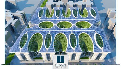 عقار ستوك - شقة تمليك 173 م بكمبوند The Gate  النزهة مصر الجديدة