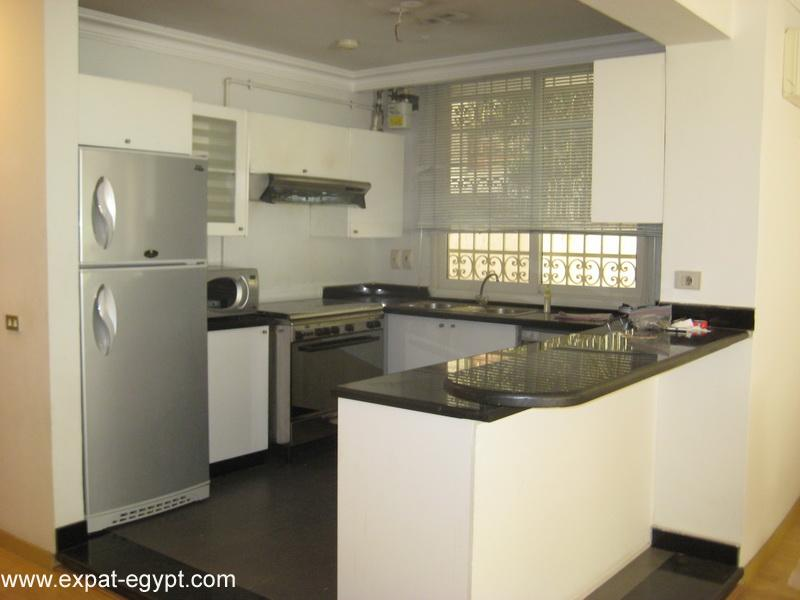 عقار ستوك - Apartment for Rent in Maadi with Garden
