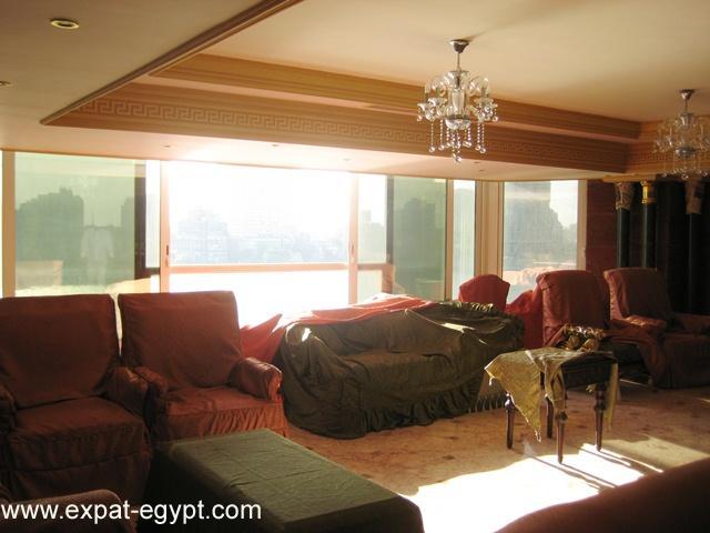 عقار ستوك - شقة لهواه التميز للبيع بالمنيل تري النيل مباشرة