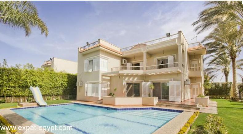 عقار ستوك - Villa located in \'Golf El Solaimanya' for Sale