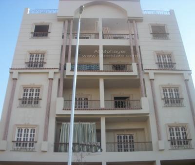 عقار ستوك - شقه للايجار بحي النرجس القاهرة الجديدة مع حديقة