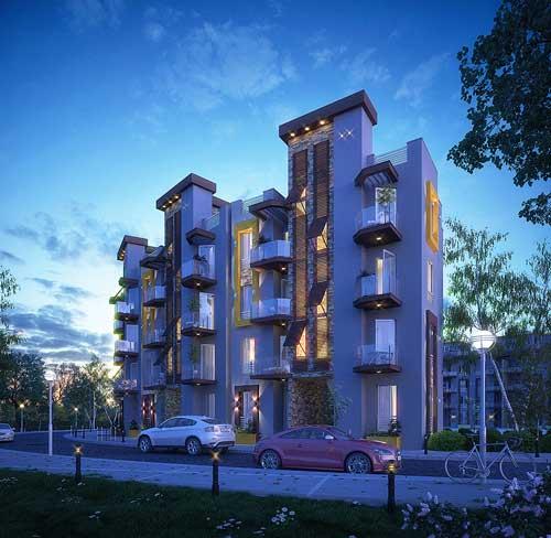 عقار ستوك - تملك بالكيلو265 اسكندرية مطروح استوديو 88 م بحديقة
